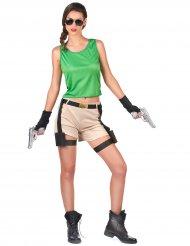 Archäologin Kostüm für Damen