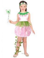 Feenkostüm für Mädchen in rosa und grün