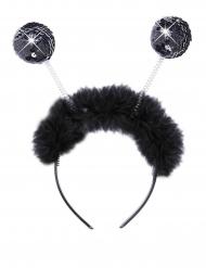 Fell Haarreif mit Discokugel Antennen