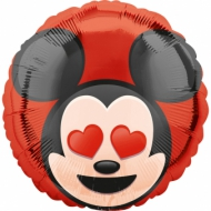 Aluminium-Ballon Mickey Mouse™ Emoji™ 43 cm