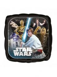 Aluminium-Ballon quadratisch Star Wars™ 43 cm