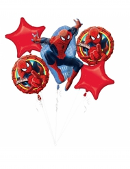 5 Aluminium-Ballons Spiderman Ultimate™
