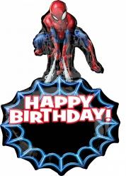 Großer Ballon Aluminium Spiderman 58 cm x 86 cm