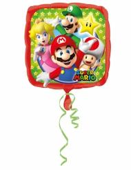 Aluminium-Ballon Mario Bros™ 43 x 43 cm