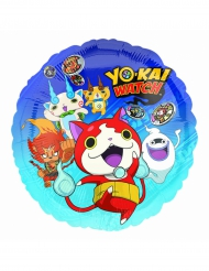 Aluminium-Ballon Yo Kai Watch™ 43 cm