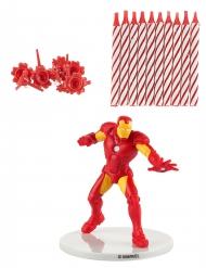 Iron ManGeburtstagskerzen Set