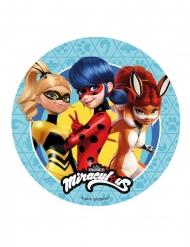 Miraculous Ladybug™ Zuckerplatte 20 cm