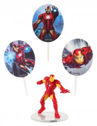 Iron Man Kuchen Deko Set