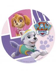 Paw Patrol™ Kuchenoblate Stella und Everest™ bunt 20 cm