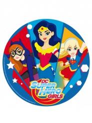 Zuckerplatte Kuchen Super Hero Girls