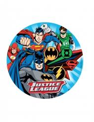Justice League™ Kuchenplatte Zufallsmotiv 20 cm