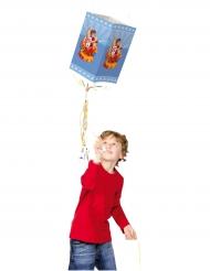 Ritter Pinata mit Drachen Kindergeburtstag hellblau