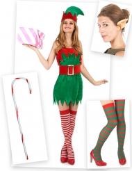 Elfen Kostüm Set für Damen