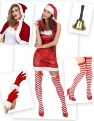 Kostüm Weihnachtsfrau klassisch