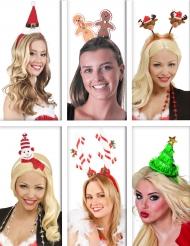 Weihnachtliches Haarreifen Set für Erwachsene