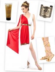 Römerinnen Kostümset Erwachsene