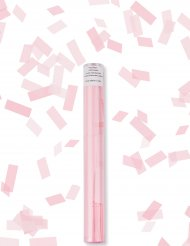 Konfettikanone-Partyknaller mit Konfetti rosa