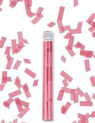 Konfetti-Kanone Party-Zubehör für Erwachsene rosa