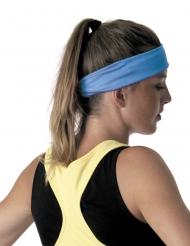 80er-Jahre Kopfband Kostümzubehör blau