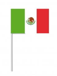 Papierfahne als Deko Mexiko 14 x 21 cm