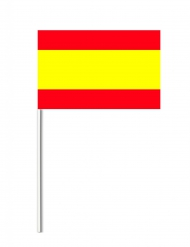 Deko Papierfahne Spanien 14 x 21 cm