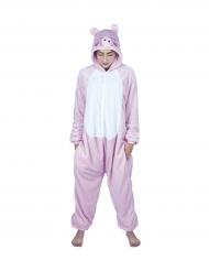 Kostüm Schweinchen Overall für Erwachsene
