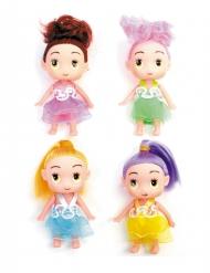 Süße Puppe Geschenkidee Kindergeburtstag Pinata bunt 7cm