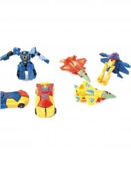 Mini-Roboter Piñata-Zubehör bunt