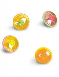 Spielzeug Überraschungen für Pinata Leuchtkreisel bunt 4,5cm