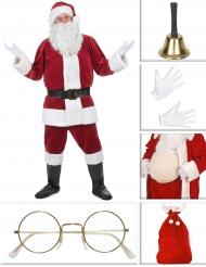 Set Weihnachtsmann Kostüm