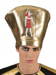 Pharaonischer Krieger-Hut für Erwachsene gold