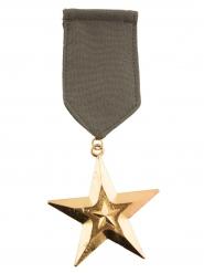 Militär Abzeichen-Medaille Kostüm-Zubehör khaki-gold