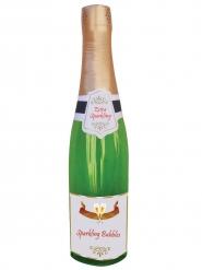 Champagnerflasche faltbar lustiges Party-Zubehör bunt 76 cm