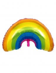 Regenbogen Aluminium-Ballon 91 cm
