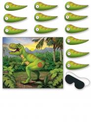 Dinosaurier Poster-Spiel grün