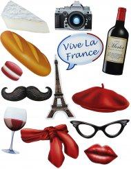 Fotokoffer-Set mit 13 Teilen Frankreich
