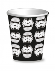 8 Stormtrooper Pappbecher Star Wars™ 250 ml