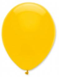 6 gelbe Luftballons 30 cm