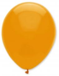 6 orangefarbene Luftballons 30 cm