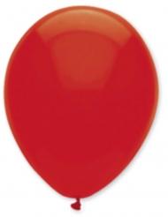 6 rubinrote Luftballons 30 cm