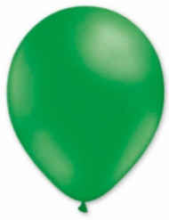 6 Ballons dunkelgrün 30 cm