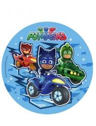 PJ Masks™-Tortenaufleger Kindergeburtstag bunt 16cm