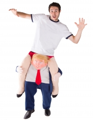 Donald Carry-Me Kostüm für Erwachsene bunt