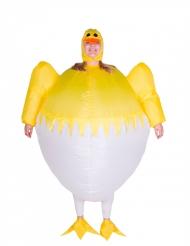 Aufblasbares Küken Kostüm Erwachsene