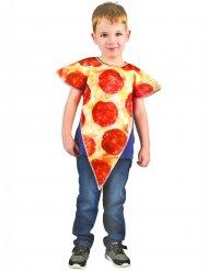 Pizza-Kostüm für Kinder beige-rot