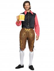 Bayrisches-Kostüm für Herren Oktoberfest bunt