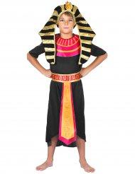Pharaonischer Krieger Kinderkostüm schwarz-rot-gold