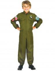 Jetpilot-Kinderkostüm Overall khaki