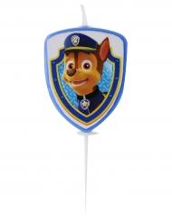Paw Patrol™ Chase-Geburtstagskerze für Kinder 4 cm