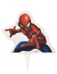 Spiderman Geburtstagskerze 9x7 cm